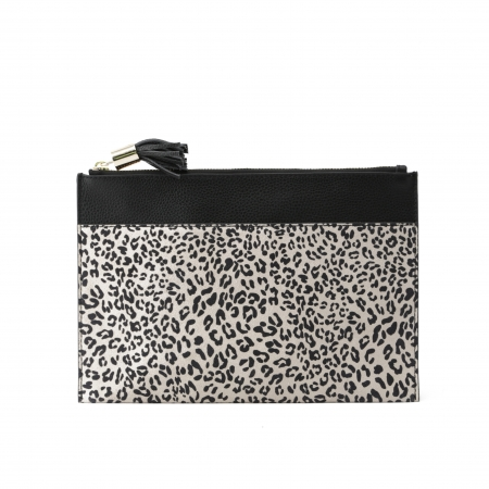 Leopardenmuster Damen Clutch Bag