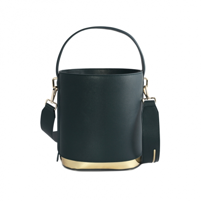 Women's Green Leather Tote Bags
