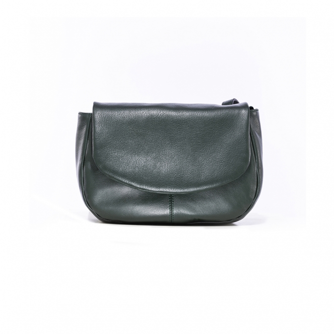 Saddle leather bag