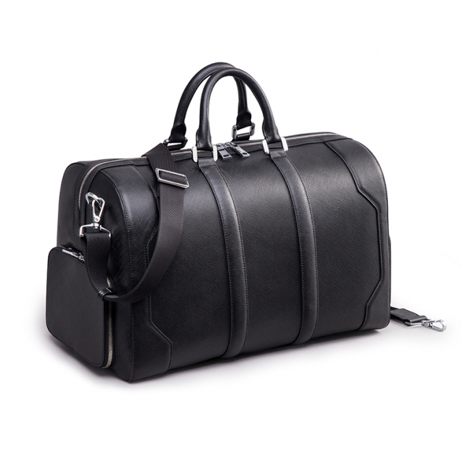 saffiano leather travel bags