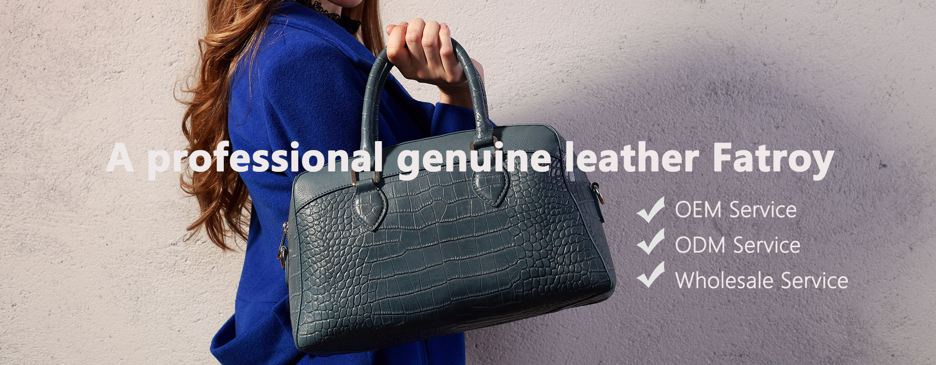 Custom High Quality Genuine Leather Bags